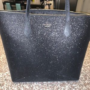 Kate spade sparkly tote